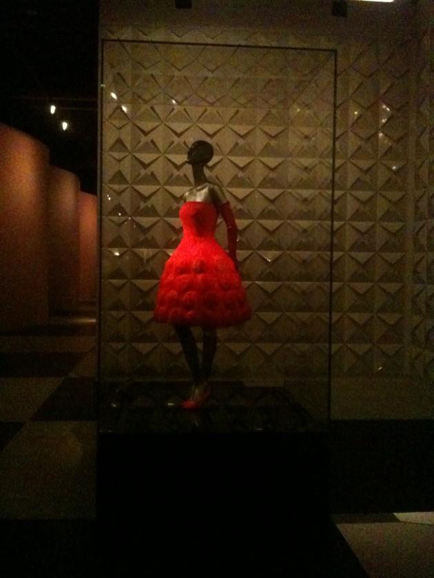 Valentino Retrospective Resorts World Sentosa Singapore red