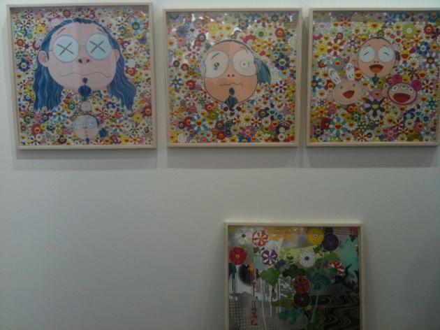 Takashi Murakami self potraits Art stage